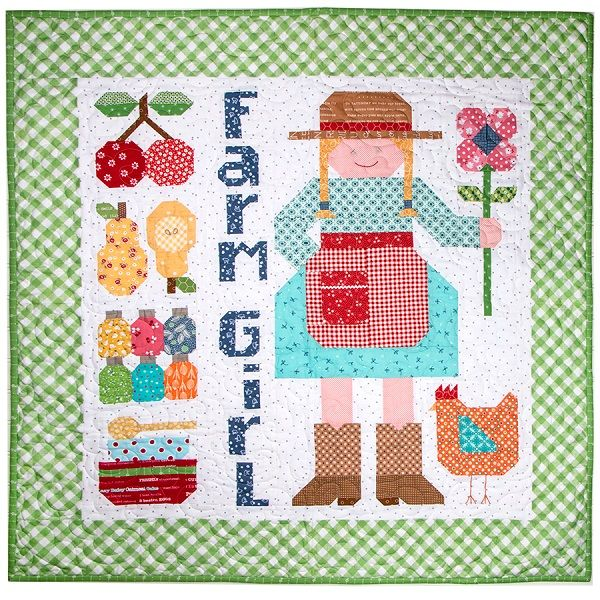 Lori Holt's Farm Girl Vintage Anniversary: Celebrate with A Free ... : lori holt quilt patterns - Adamdwight.com