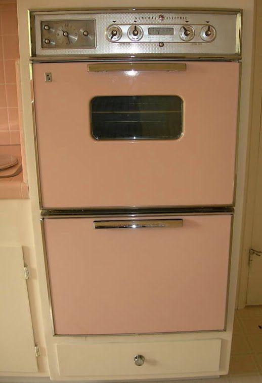 1950u0027s Atomic Ranch House: 1950u0027s Pink Kitchen Appliances   I Want These!
