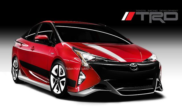 Toyota Prius 2016 Trd Car Modification Idea Toyota Prius