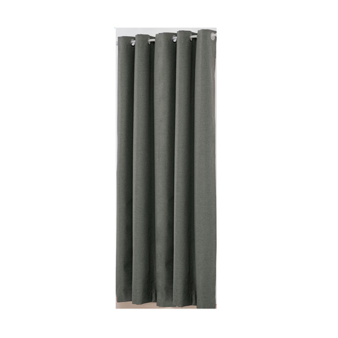 St Tropez Double Width Eyelet Curtain Charcoal Kmart Charcoal Curtains Curtains St Tropez