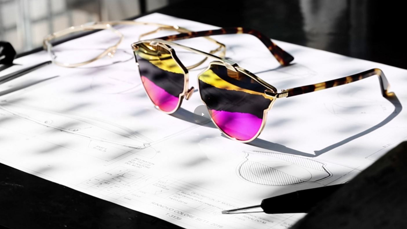 Dior So Real Sunglasses Get a Cool Tricolor Twist