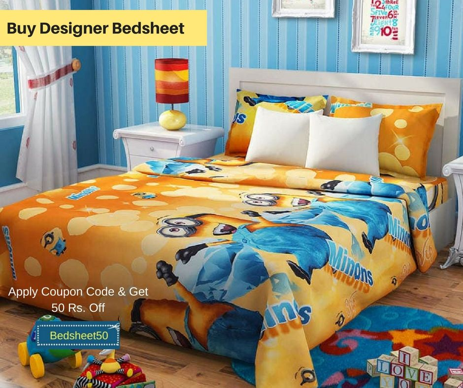 Get beautiful and designer colorful bedsheets at best ...