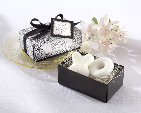 Hugs Kisses From Mr And Mrs Scented Soap Favor