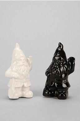 Gnome Salt And Pepper Shaker - Set Of 2