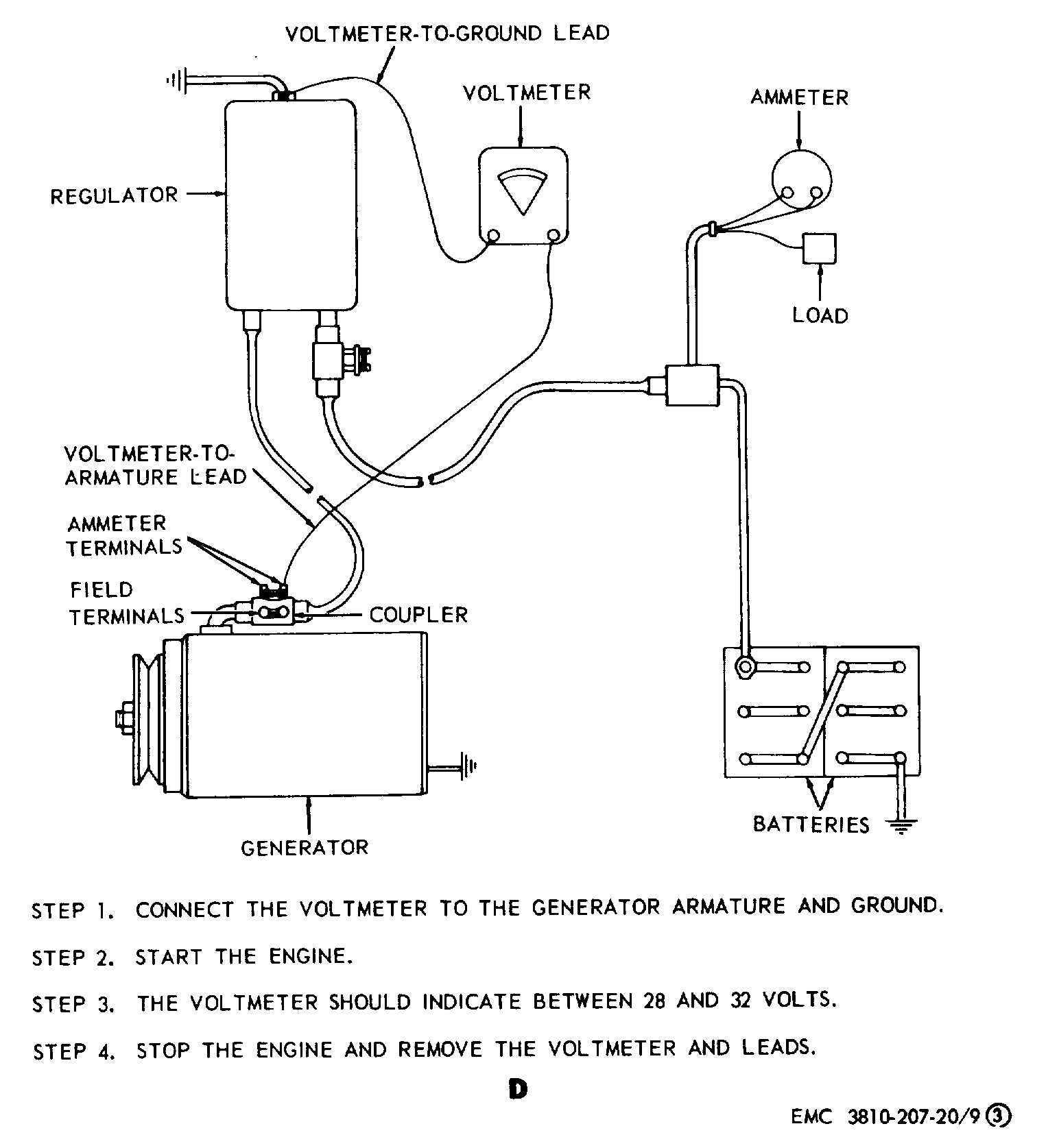 12 Volt Generator Voltage Regulator Wiring Diagram