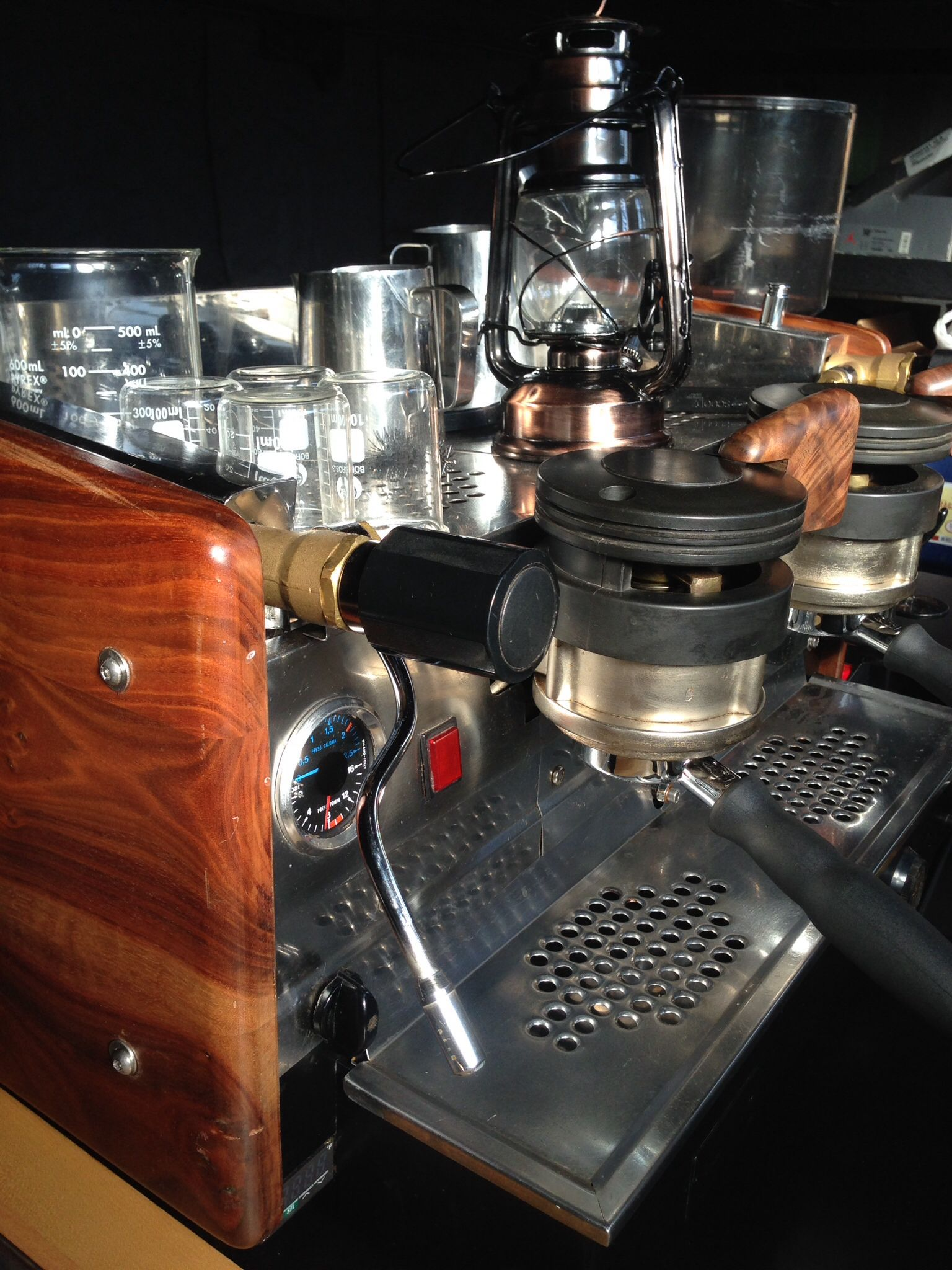 La marzocco gs2 vintage restored espresso machine