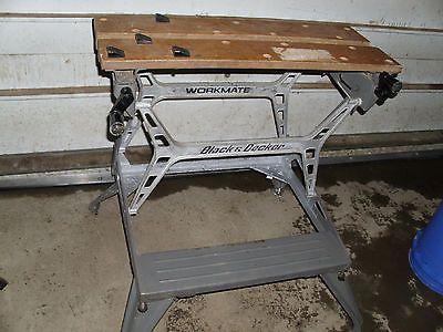 Black And Decker Vintage Aluminum H Frame Workmate Work