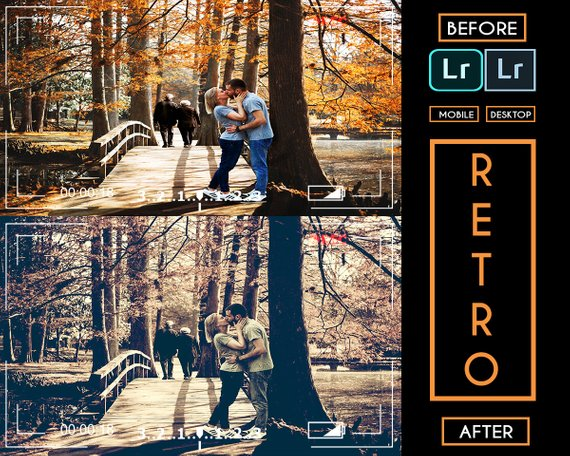 Retro Presets Desktop and Mobile | best presets for pictures
