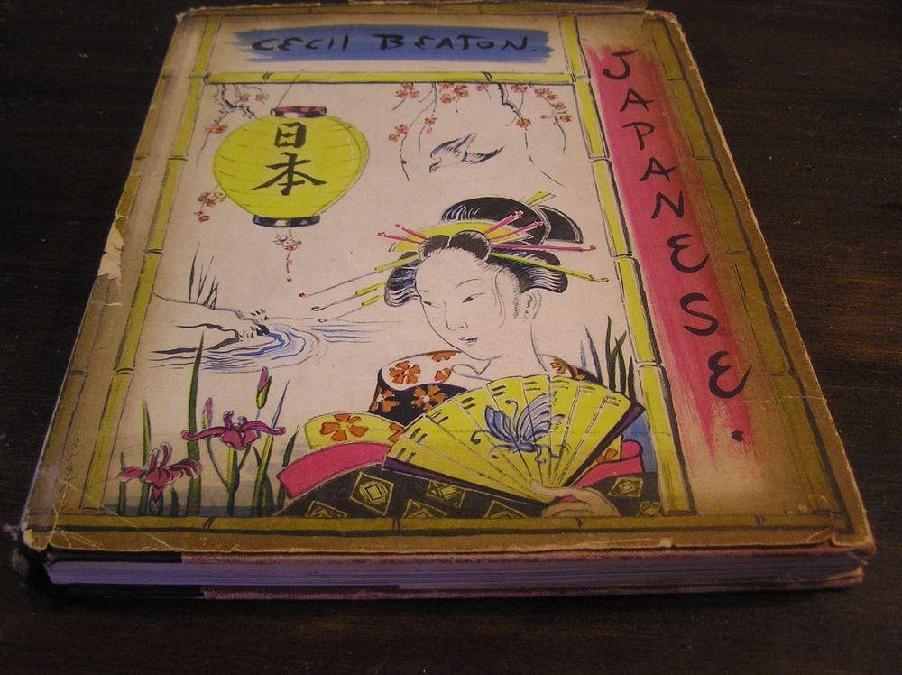Cecil beaton japanese 1959 photographs writings drawings