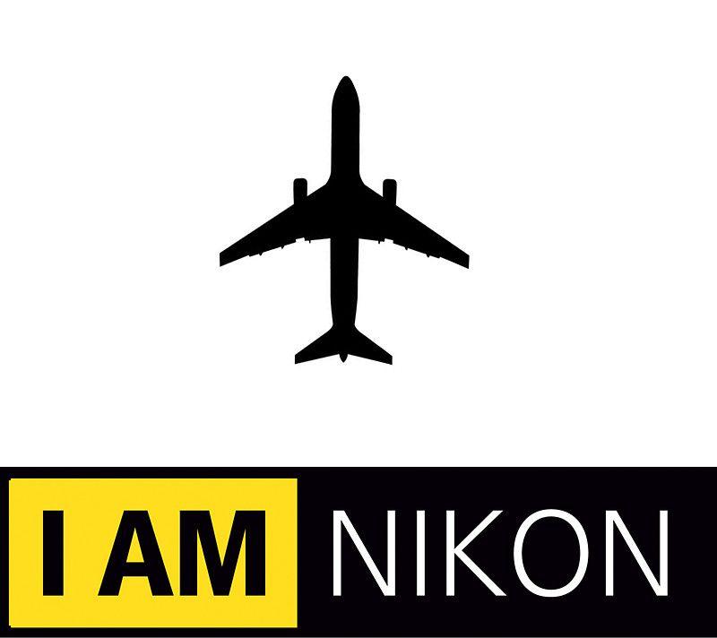 I Am Nikon Airplane Parody Logo By Frexk Logos Nikon Logo Nikon
