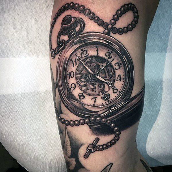 200 Meaningful Pocket Watch Tattoos Ultimate Guide 2019 I See