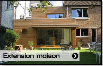 Id e extesnsion extension garage pinterest for Agrandissement maison 68