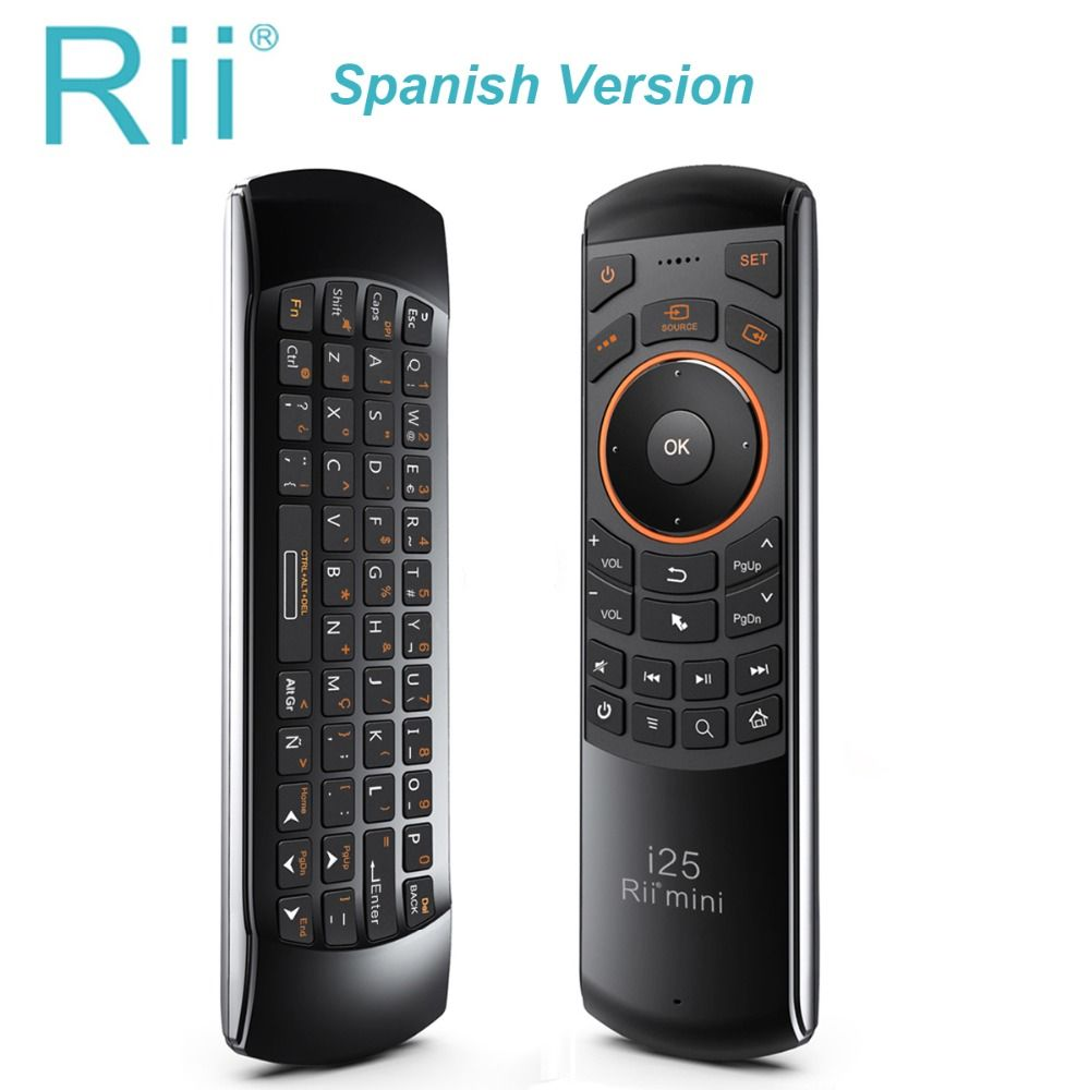 Original Rii i25 Wireless Air mouse 2.4Ghz Mini Fly Mouse