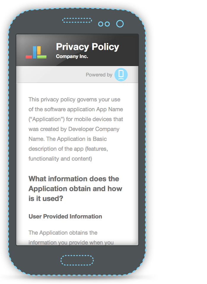 Privacy Policy / Open Source (With images) Privacy