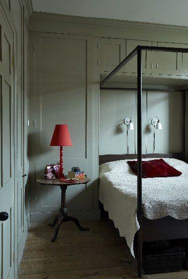 peinture les couleurs chambre adulte id ales pour les murs pinterest farrow ball gris. Black Bedroom Furniture Sets. Home Design Ideas