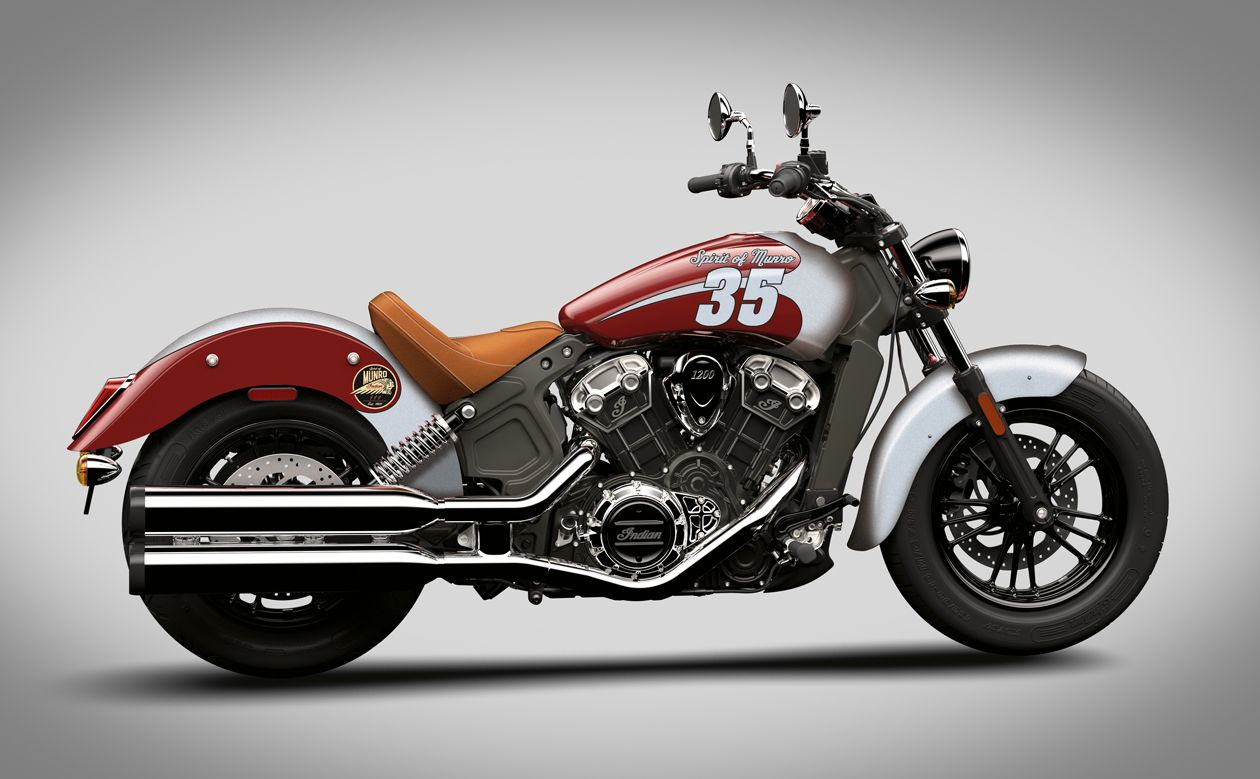 Indian Scout Spirit Of Munro Indian Motorcycle Indian Motorcycle Scout Red Motorcycle [ 779 x 1260 Pixel ]