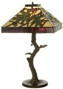 Amazon Com Meyda Tiffany 81072 Acorn Oak Leaf Crooked Tree