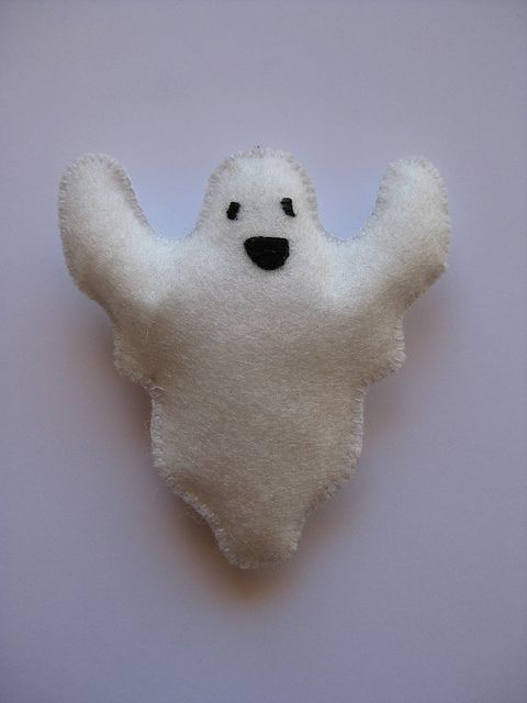 Ghost Brooch | Flickr - Photo Sharing!