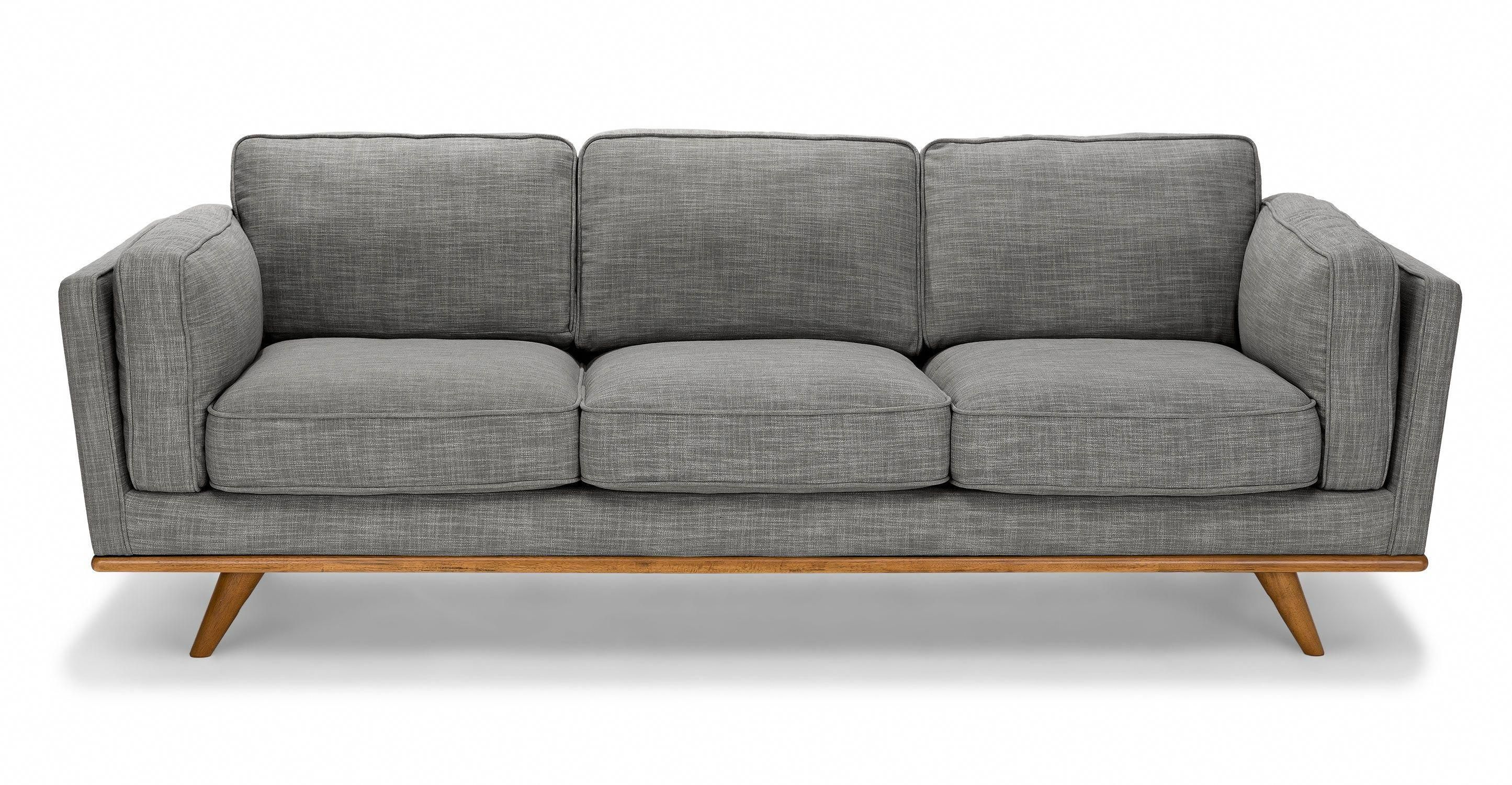 Timber Pebble Gray Sofa Homefurniture