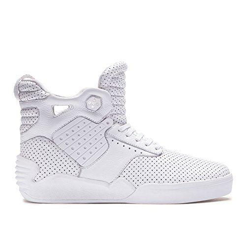 Supra Hombre Skytop IV BlancoBlanco Sneaker Hombre  Mujer  9 D M  Mujer You ed39d6