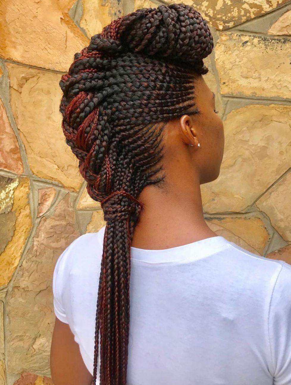 70 Best Black Braided Hairstyles That Turn Heads #braidedhairstylesforblackwomen