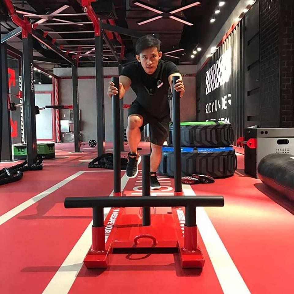 Gym Equipment Vietnam: Neoflex 800 Series Fitness Flooring With Inlaid Functional