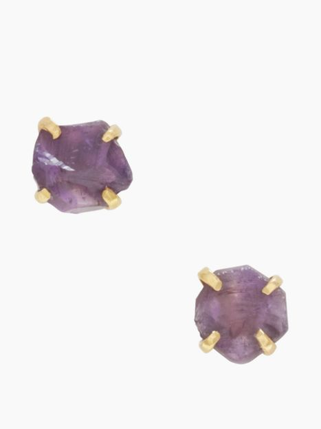 Kate Spade The Royal Bazaar Amethyst Studs