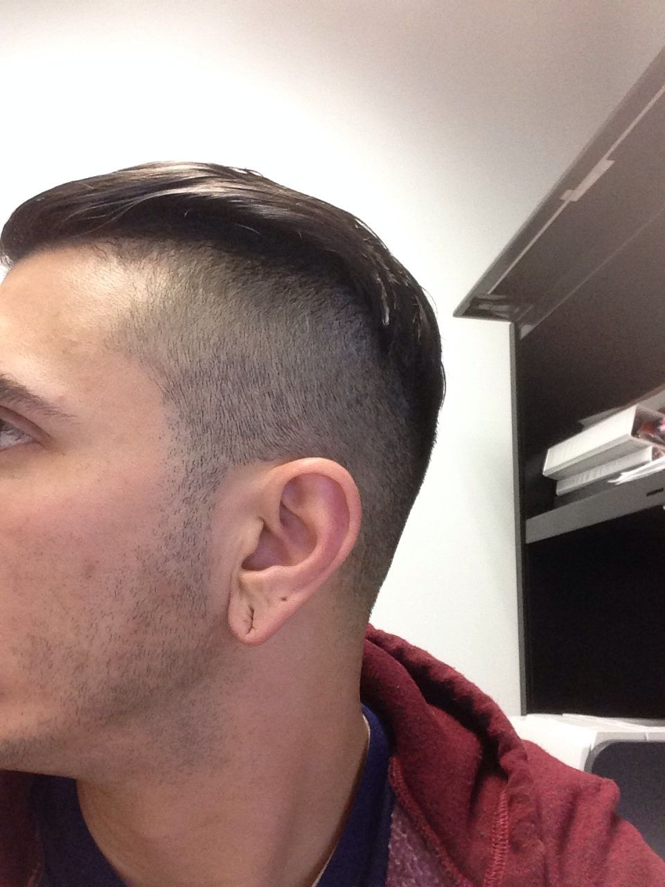 Skin fade to undercut. Peaky Blinders / prohibition ...