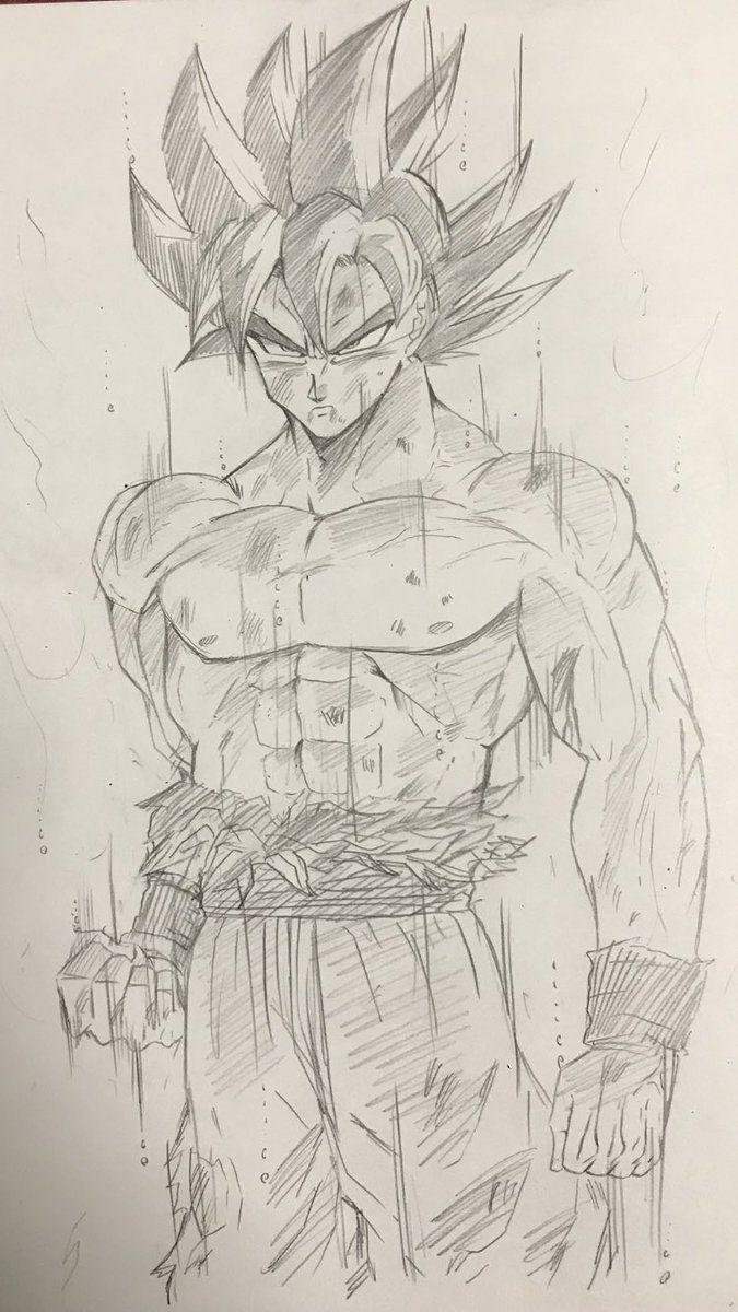 Goku Ultra Instinct | DBZ | Pinterest