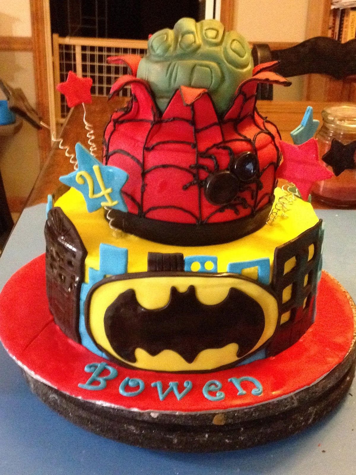 His Birthday Cake Is Cooler Then Mine And He Only Four Walmart Cakes