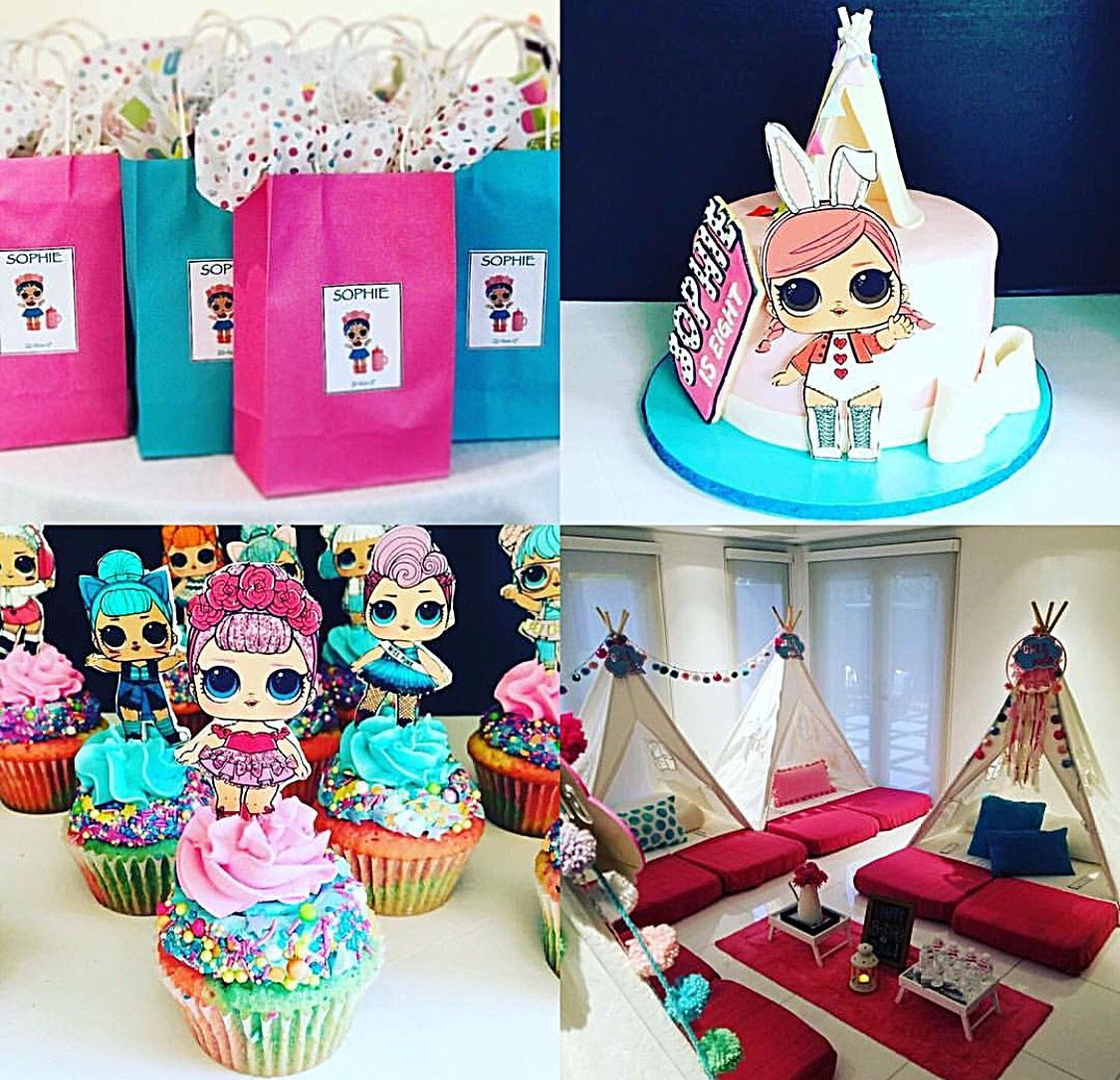 Lol surprise dolls birthday party birthday parties