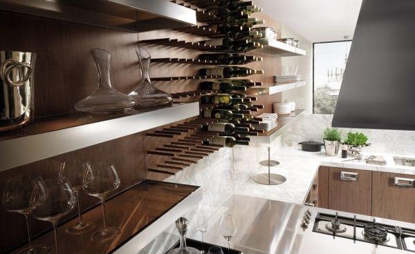 barrique ernestomeda küche wein liebhaber offene regale Wohnzimmer - ernestomeda barrique