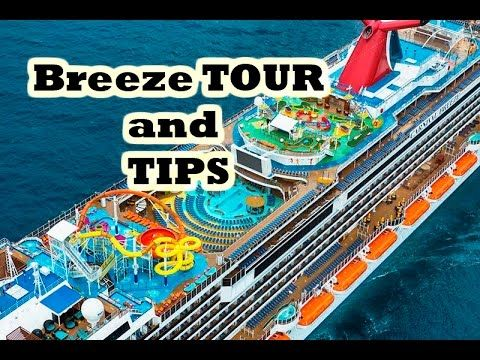 Carnival Breeze Tour And Tips With Images Carnival Breeze