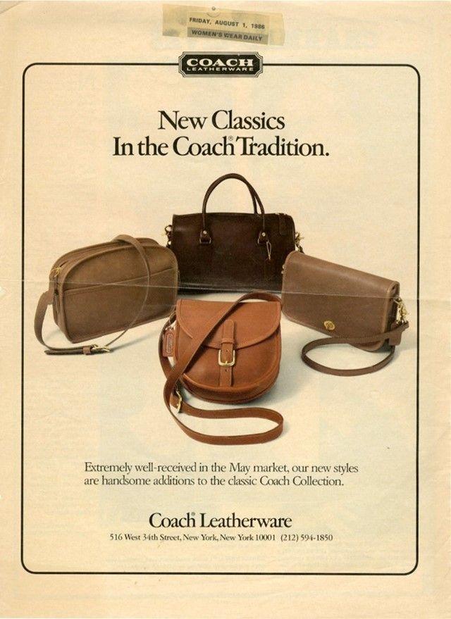 Why The Coach Handbag Is A Symbol Of Its Era Defying Cool Coach