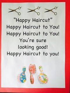 Dr  Jean & Friends Blog: HAPPY HAIRCUT & other Morning