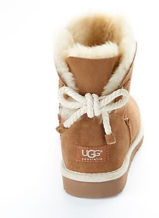 e340239daf4 UGG Australia Selene Tie Back Booties | Womens Fashion Designs in ...