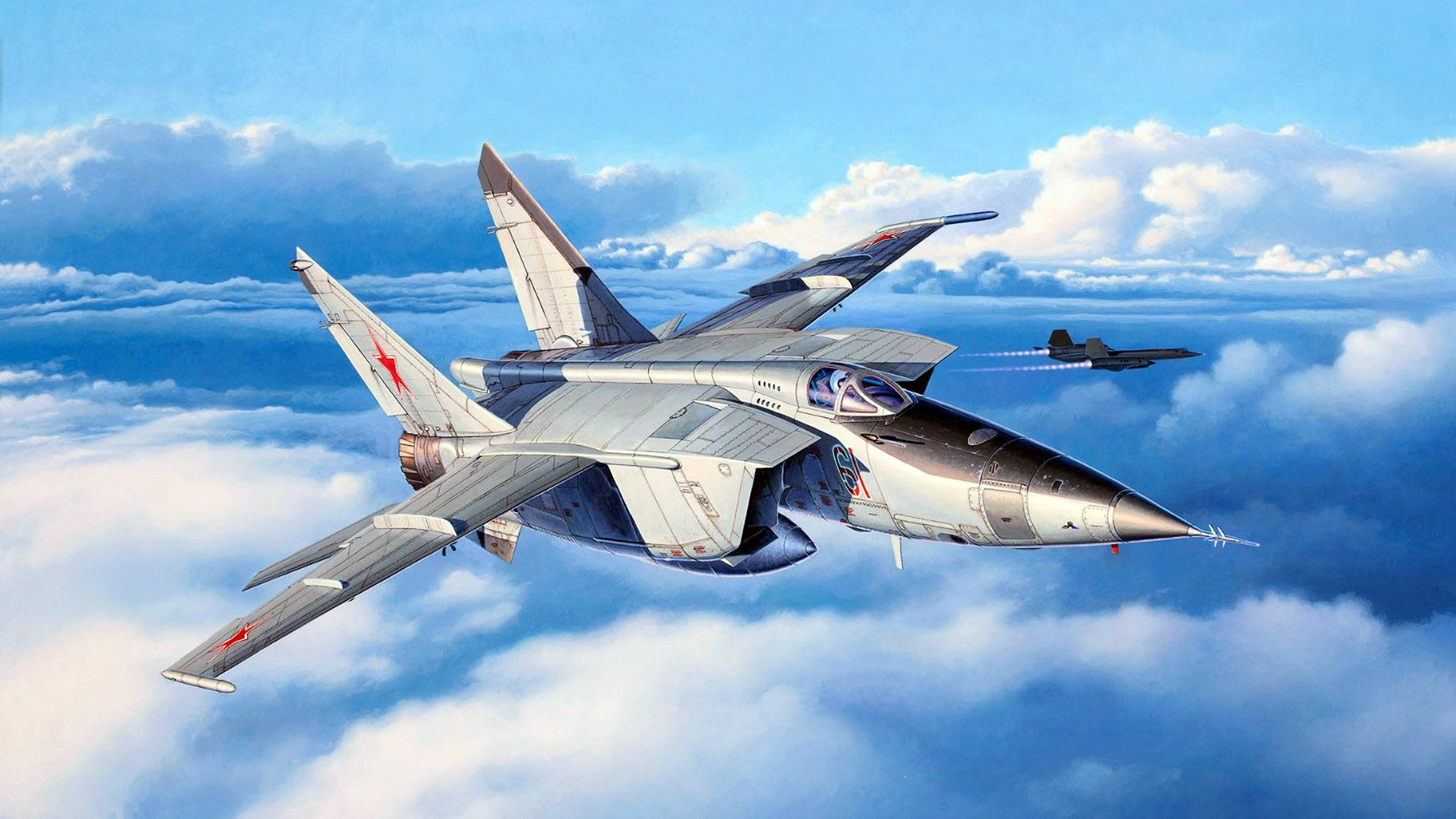 Обои миг-31, ввс, Микоян и гуревич, перехватчик, истребитель. Авиация foto 18