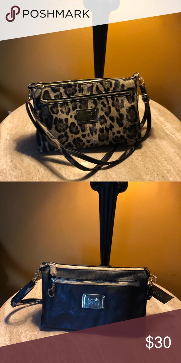 Nicole Miller convertible clutch/shoulder bag NWT