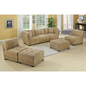 Costco   Canby 7 Piece Modular Sectional   Arrange The Pieces In Different  Ways To