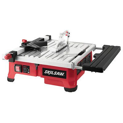 Skil 5 Amp 7 Wet Tile Saw With Hydrolock System 3550 02 New Tile Saw Table Saw Best Table Saw