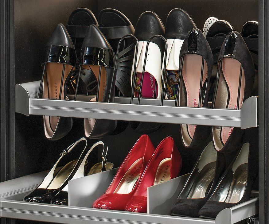 Pull-Out Shoe Organizer, ENGAGE - in the Häfele America Shop#america #engage #h...#america #engage #häfele #organizer #pullout #shoe #shopamerica