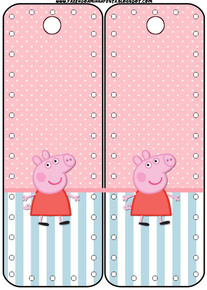 peppa pig party free printables peppa pig pinterest pig