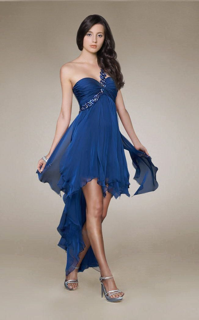 cutenfanci.com royal blue cocktail dress (01) #cocktaildresses ...