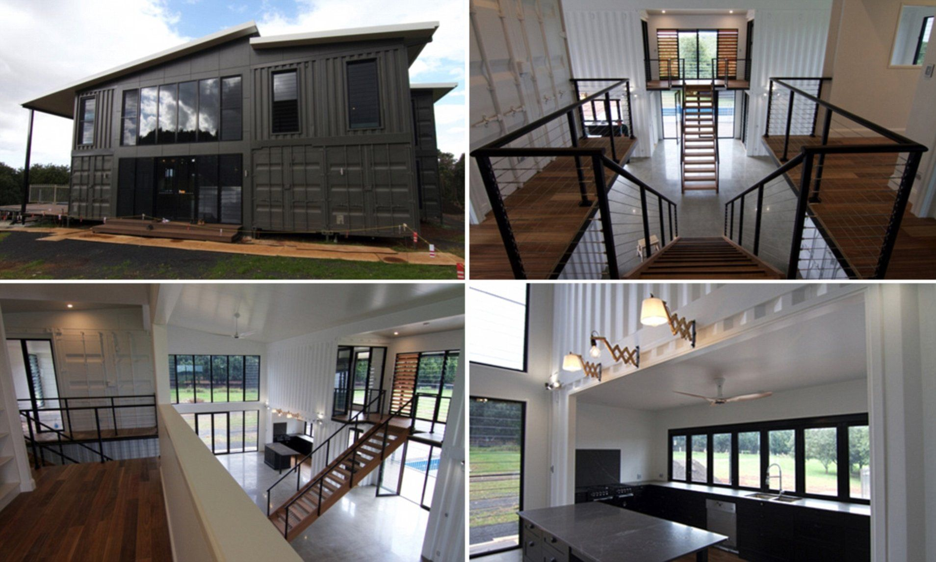 See the shipping container homes where you can live in