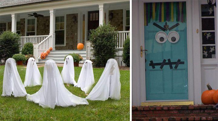 Manualidades para decorar en Halloween manualidades Pinterest