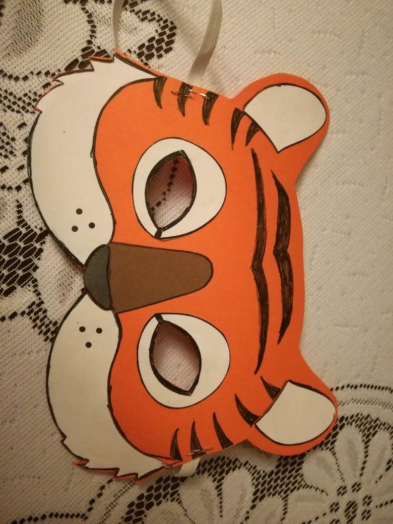 Maska Tygrys Character Disney Characters Symbols