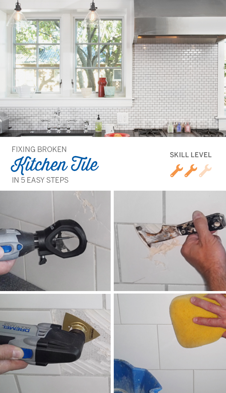 Take care of those tile cracks in your kitchen or bathroom tile with ...