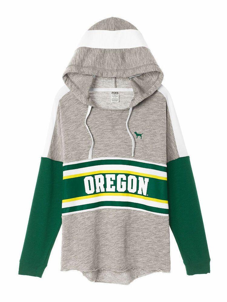 182a72923c2eb PINK by Victoria's Secret Oregon Ducks Pullover Hoodie Sweatshirt ...