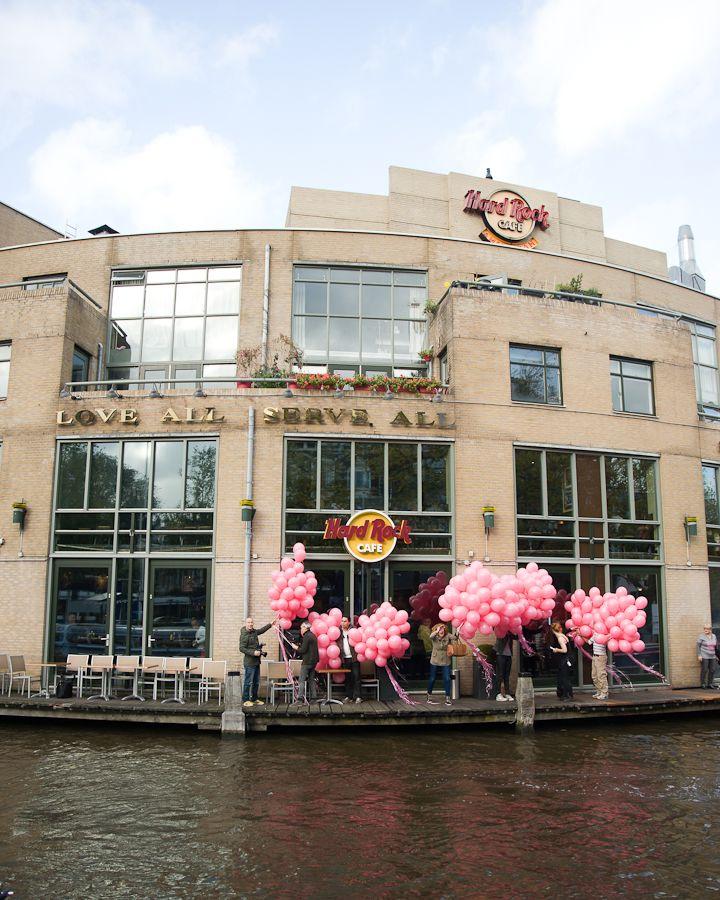 Hardrock Amsterdam Pinktober Hard Rock Cafe Amsterdam Asistershope Makeitpink For October Breastcancer Awareness Live Music Events Pinktober