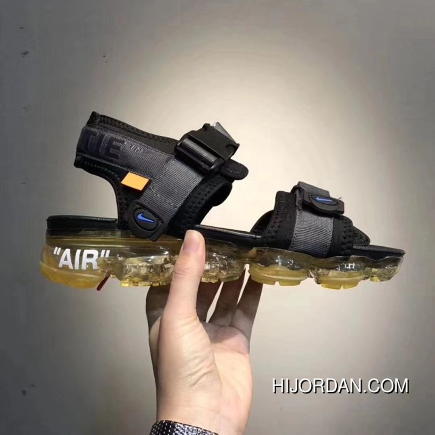 042c01af465b Women Off White X Nike Air Vapormax Sandals Aaaa 24999 Online in ...